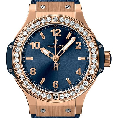 Hublot Big Bang Gold Blue Diamonds - 361.PX.7180.LR.1204