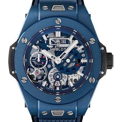 Hublot Big Bang Meca-10 Ceramic Blue - 414.EX.5123.RX