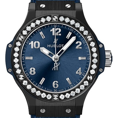 Hublot Big Bang Ceramic Blue Diamonds - 361.CM.7170.LR.1204