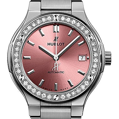 Hublot Classic Fusion Titanium Pink - 568.NX.891P.NX.1204