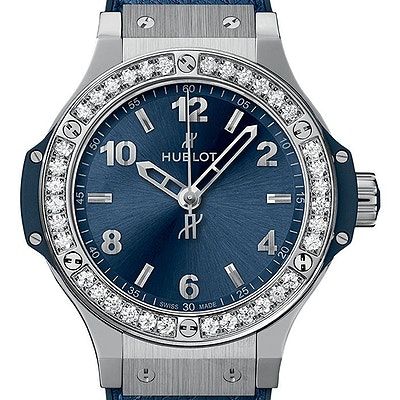 Hublot Big Bang Steel Blue Diamonds - 361.SX.7170.LR.1204