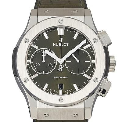Hublot Classic Fusion Automatic Chronograph Titanium Green - 521.NX.8970.LR