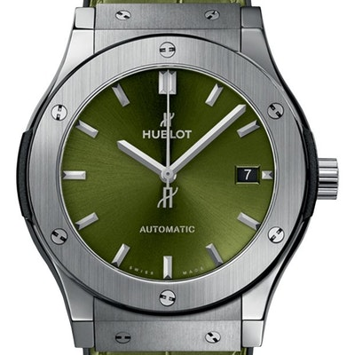 Hublot Classic Fusion Titanium Green - 511.NX.8970.LR