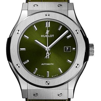 Hublot Classic Fusion Green Titanium - 542.NX.8970.LR