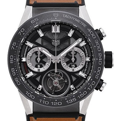 Tag Heuer Carrera Calibre HEUER 02T COSC Automatic Chronograph - CAR5A8Y.FT6072