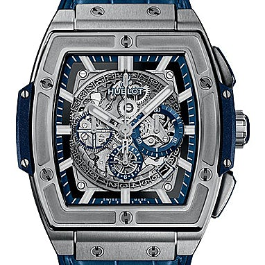 Hublot Spirit of Big Bang Titanium Blue - 601.NX.7170.LR