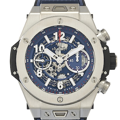Hublot Big Bang Unico Titanium Blue - 411.NX.5179.RX