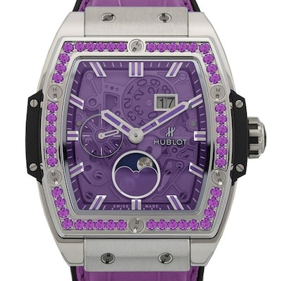 Hublot Spirit of Big Bang Moonphase Titanium Purple - 647.NX.4771.LR.1205