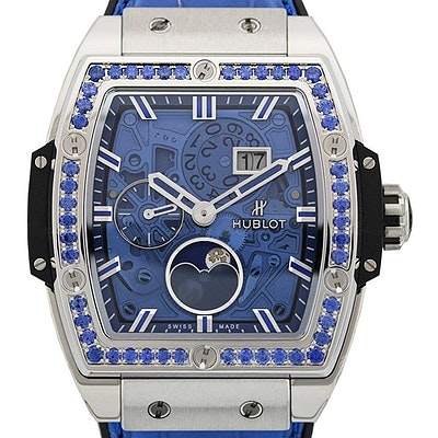 Hublot Spirit of Big Bang Moonphase Titanium Dark Blue - 647.NX.5171.LR.1201