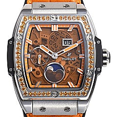 Hublot Spirit of Big Bang Moonphase Titanium Orange - 647.NX.5371.LR.1206