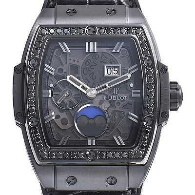 Hublot Spirit of Big Bang Moonphase all Black Diamonds - 647.CI.1110.LR.1200