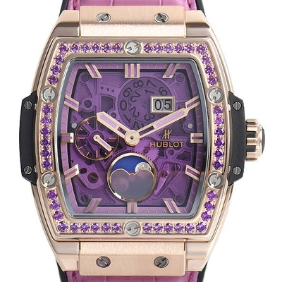 Hublot Spirit of Big Bang Moonphase King Gold Purple - 647.OX.4781.LR.1205