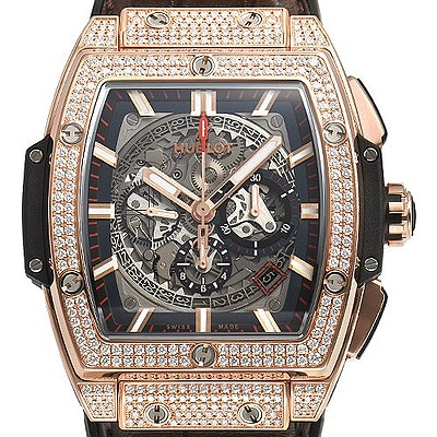 Hublot Spirit of Big Bang King Gold Pave - 601.OX.0183.LR.1704