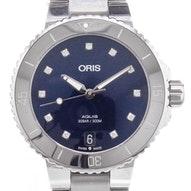 Oris Aquis Date Diamonds - 01 733 7731 4195-07 8 18 05P