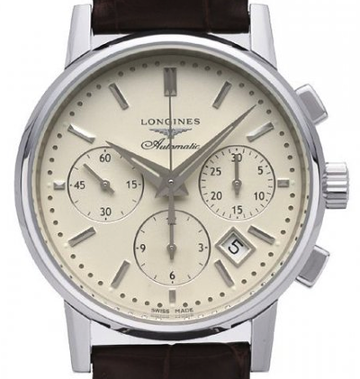 Longines Heritage Column Wheel Chronograph - L2.733.4.72.2