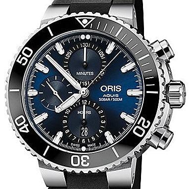 Oris Aquis Chronograph - 01 774 7743 4155-07 4 24 64EB