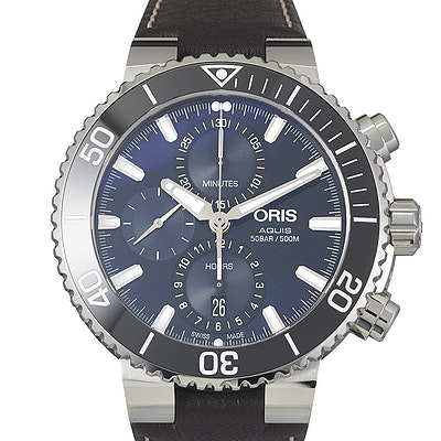 Oris Aquis Chronograph - 01 774 7743 4155-07 5 24 10EB