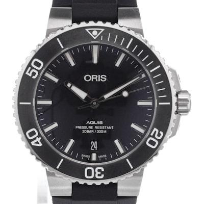 Oris Aquis Date - 01 733 7732 4124-07 4 21 64FC