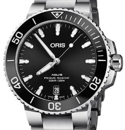 Oris Aquis Date - 01 733 7732 4134-07 8 21 05PEB