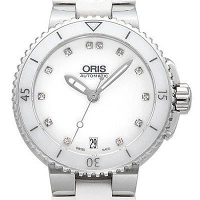 Oris Aquis Date Diamonds - 01 733 7652 4191-07 4 18 31