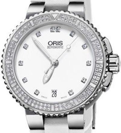 Oris Aquis Date Diamonds - 01 733 7652 4991-07 4 18 31