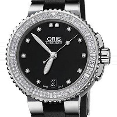 Oris Aquis Date Diamonds - 01 733 7652 4994-07 4 18 34