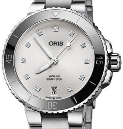 Oris Aquis Date Diamonds - 01 733 7731 4191-07 8 18 05P