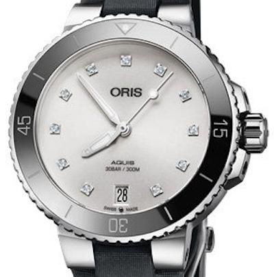 Oris Aquis Date Diamonds - 01 733 7731 4191-07 5 18 45FC
