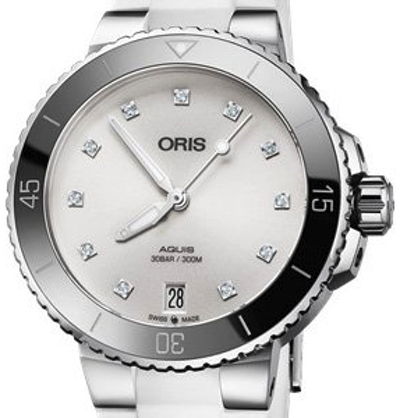 Oris Aquis Date Diamonds - 01 733 7731 4191-07 4 18 63FC