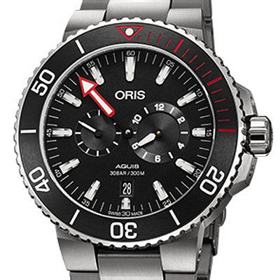 Oris Aquis Regulateur Der Meistertaucher - 01 749 7734 7154-Set