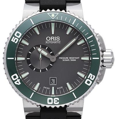 Oris Aquis Small Second Date - 01 743 7673 4137-07 4 26 34EB