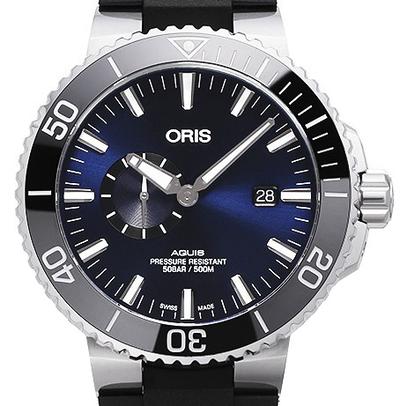 Oris Aquis Small Second Date - 01 743 7733 4135-07 4 24 64EB