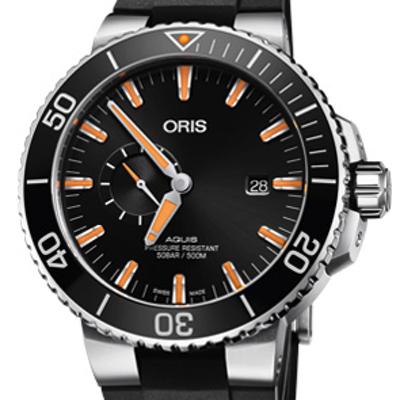 Oris Aquis Small Second Date - 01 743 7733 4159-07 4 24 64EB