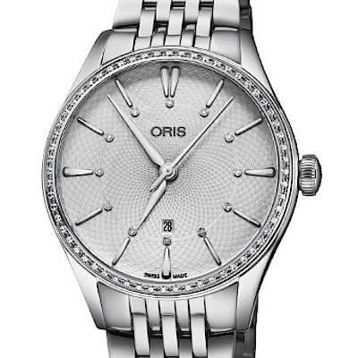 Oris Artelier Date Diamonds - 01 561 7724 4951-07 8 17 79