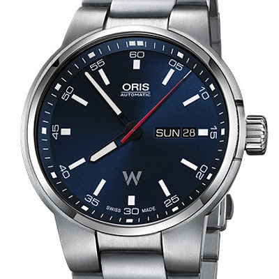 Oris Williams Day Date - 01 735 7740 4155-07 8 24 50S
