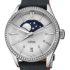 Oris Artelier Grande Lune Date Diamonds - 01 763 7723 4951-07 5 18 34FC