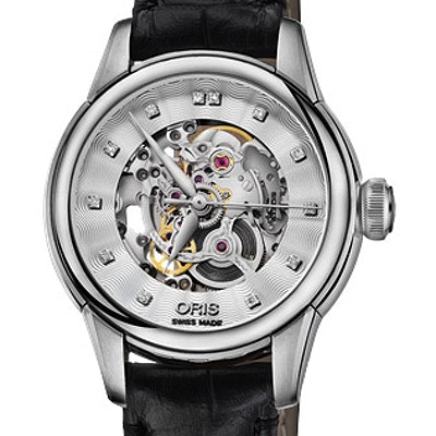 Oris Artelier Skeleton Diamonds - 01 560 7687 4019-07 5 14 60FC