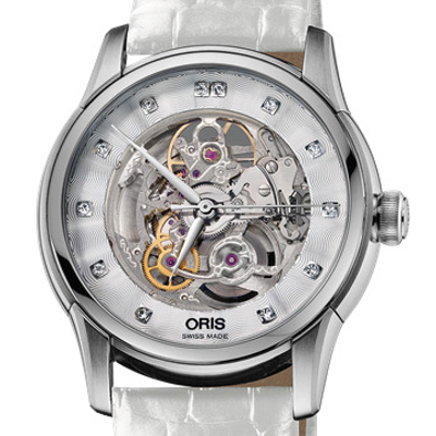 Oris Artelier Skeleton Diamonds - 01 734 7670 4019-07 5 21 67FC