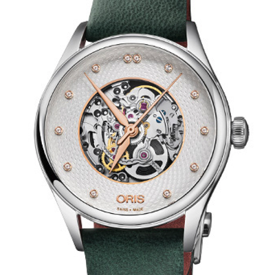 Oris Artelier Skeleton Diamonds - 01 560 7724 4031-07 5 17 35FC