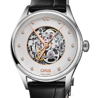 Oris Artelier Skeleton Diamonds - 01 560 7724 4031-07 5 17 64FC