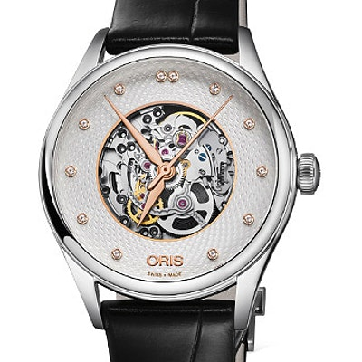 Oris Artelier Skeleton Diamonds - 01 560 7724 4031-07 8 17 79