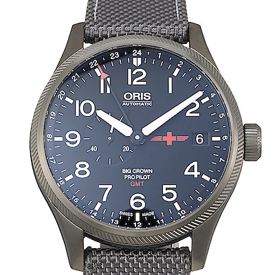 Oris Big Crown ProPilot GMT Rega Ltd. - 01 748 7710 4284-Set