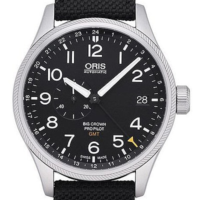 Oris Big Crown ProPilot GMT Small Second - 01 748 7710 4164-07 5 22 15FC