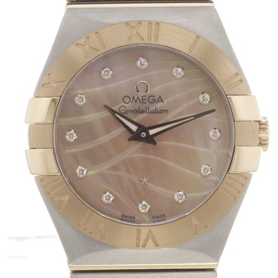 Omega Constellation Quartz - 123.20.27.60.57.002