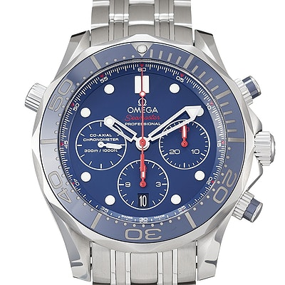 Omega Seamaster Diver 300M Co-Axial Chronograph - 212.30.44.50.03.001