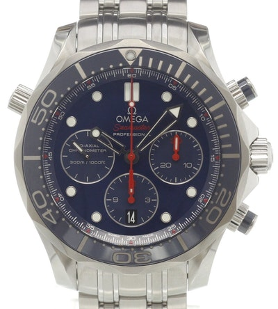 Omega Seamaster Diver 300M Co-Axial Chronograph - 212.30.44.50.03.001