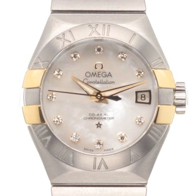 Omega Constellation Co-Axial - 123.20.27.20.55.005