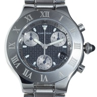 Cartier Must 22 Chronoscaph - W10172T2