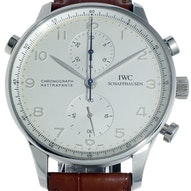 IWC Portugieser Double Chronograph Platinum - IW3712