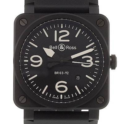 Bell & Ross BR 03  - BR0392-BL-CE